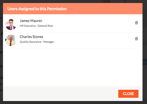Assign permission to user2
