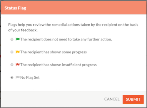 How To Give Status Flags