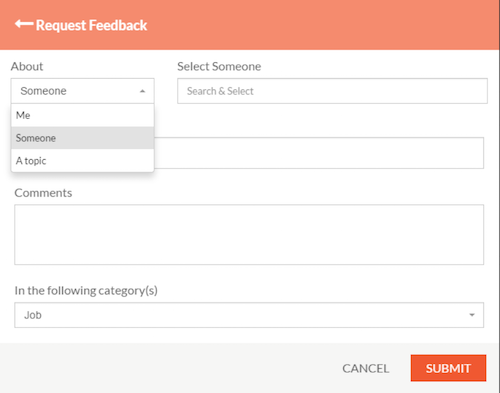 How To Request For Feedback