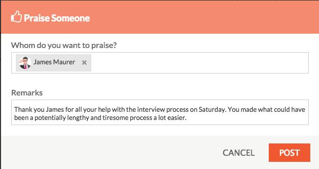 Praise An Employee