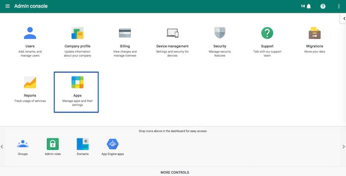 google-admin-console