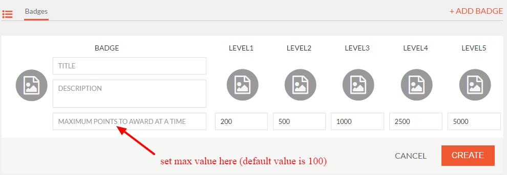 set max value