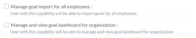 goal permissions