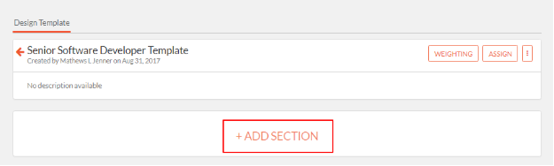 Once The Section Is Added You Can Now Add Questions Kras Key Result Areas And Sub Kpas Performance To It